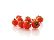 Tomates vermelhos pequenos Foto de Stock Royalty Free