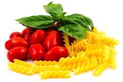 Tomates y pastas de San Marzano Imagen de archivo