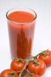 Tomatesaft Stockfoto