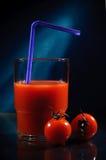 Tomatesaft Stockbild