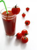 Tomatesaft Lizenzfreies Stockbild