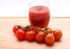 Tomatesaft Lizenzfreie Stockbilder