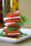 Tomatesalat Stockbild