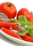 Tomatesalat Stockbilder