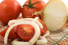 Tomatesalat Lizenzfreies Stockbild