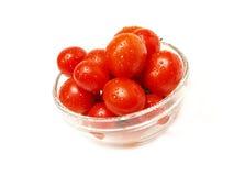 Tomateschüssel Stockbild