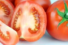 Tomatescheibe Lizenzfreie Stockfotos