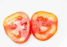 Tomatescheibe lizenzfreie stockfotografie