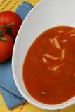 Tomatesuppe Stockfotografie
