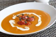 Tomatesuppe Stockbilder
