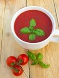 Tomatensuppe Stockbild