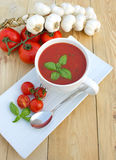 Tomatensuppe Stockfotos