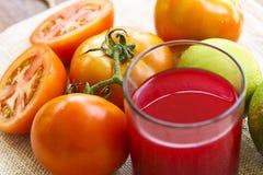 Tomatfruktsaft Royaltyfri Foto