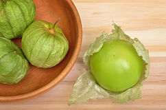 Tomatillo Tomatoes Royalty Free Stock Photos
