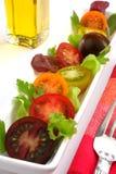 Tomato salad Stock Afbeeldingen
