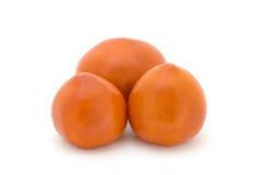 Tomato. On a white background Royalty Free Stock Photos