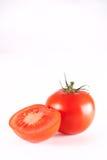 Tomato. Fresh red tomato isolated on white background stock photos