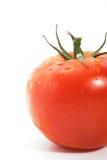 Tomato. Fresh tomato isolated on white background royalty free stock image