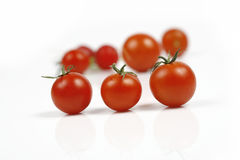 Tomato. On a white background Royalty Free Stock Image