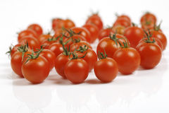 Tomato. On a white background Royalty Free Stock Photo