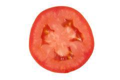 Tomato. Red tomato in a cut royalty free stock photography