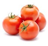 Tomato. Juicy tomato isolated on a white background Stock Photography