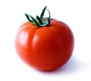 Tomato. Image of red, ripe  tomato isolated on white background Royalty Free Stock Photos