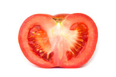 Tomato. On a white background Stock Photography