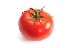 Tomato. Red ripe tomato on the white background Stock Photography