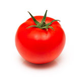 Tomato. Red tomato isolated on white background Stock Images