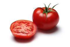 Tomato. On white background