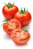 Tomato. Fresh tomato isolated on white Royalty Free Stock Images