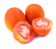Tomato. Isolated picture of ripe tomatoes, very fresh royalty free stock image