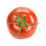 Tomato. In branch isolated on white Royalty Free Stock Photo