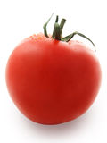 Tomato. Red tomato with water drops, clipping path Royalty Free Stock Image