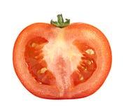 Tomato. Ripe tomato on a white background Royalty Free Stock Photo