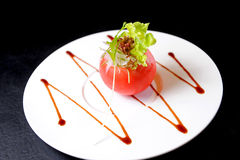 Tomato appetizer Royalty Free Stock Images
