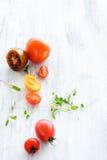 Tomato arrangement Royalty Free Stock Photo