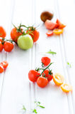 Tomato arrangement Royalty Free Stock Images
