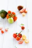 Tomato arrangement Stock Photos