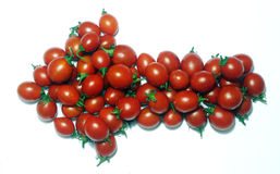 Tomato arrow Stock Image