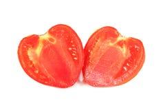 Tomato as heart Stock Photo