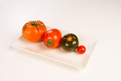 Tomato assortment Royalty Free Stock Photos