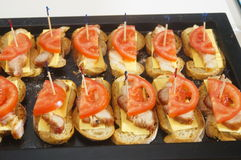 Tomato Bacon Royalty Free Stock Photos