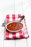 Tomato barbecue sauce Stock Image