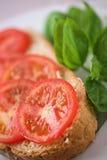 Tomato & basil Stock Photos