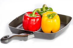 Tomato and bell pepper Royalty Free Stock Photo