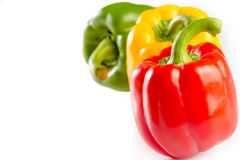 Tomato and bell pepper Stock Photos
