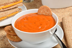 Tomato Bisque Stock Photo