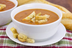 Tomato bisque soup Royalty Free Stock Photography